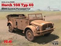 Horch 108 Typ 40 автомобиль Вермахта. 35505 ICM 1:35