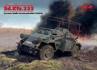 Sd.Kfz.223 бронеавтомобиль радиосвязи - 48192 ICM 1:48