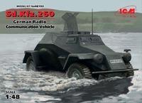 Sd.Kfz.260 бронеавтомобиль радиосвязи - 48193 ICM 1:48