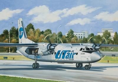 Ан-24РВ Пассажирский самолет ЮТэйр - 14463 Восточный Экспресс 1:144