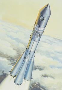 Восток Ракета-носитель - 14451 Восточный Экспресс 1:144