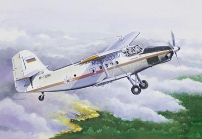 Ан-3 МЧС - 14444 Восточный Экспресс 1:144