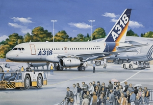 А-318-121 Авиалайнер - 14441 Восточный Экспресс 1:144
