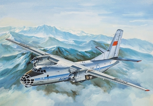 Ан-30Б Самолет аэрофотосъемки ВВС - 14472 Восточный Экспресс 1:144