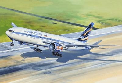 Б-777-200 Авиалайнер Аэрофлот (B772 Aeroflot) - 14440 Восточный Экспресс 1:144