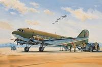 Дуглас С-47 Военно-транспортный самолет (Douglas C-47) - 14439 Восточный Экспресс 1:144