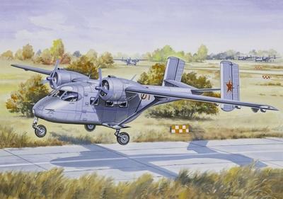 Ан-14 Самолет всязи ВВС - 14438 Восточный Экспресс 1:144