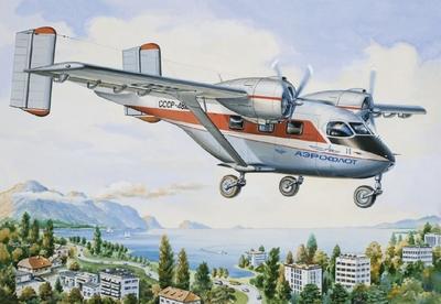Ан-14 Пассажирский самолет АК Аэрофлот - 14437 Восточный Экспресс 1:144