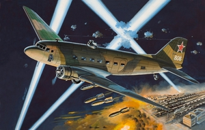 Ли-2НБ Ночной бомбардировщик - 14433 Восточный Экспресс 1:144