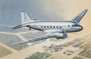 ПС-84 Пассажирский самолет - 14431 Восточный Экспресс 1:144