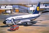 Б-737-100 Авиалайнер АК Люфтганза (B731 Lufthansa) - 14415 Восточный Экспресс 1:144
