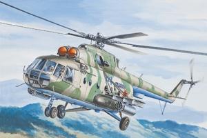 Ми-8МТ/Ми-17 Военно-транспортный вертолет ВВС/МЧС - 14501 Восточный Экспресс 1:144