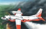 АН-32П Пожарный самолет - 28804 Восточный Экспресс 1:288
