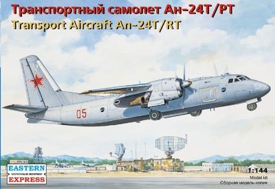 Ан-24Т/РТ Транспортный самолет ВВС/Аэрофлот - 14468 Восточный Экспресс 1:144