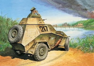 БА-64Б Легкий бронеавтомобиль - 35007 Восточный Экспресс 1:35