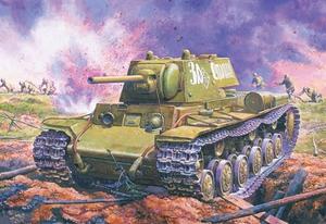 КВ-1 обр.1941 (ранний) Тяжелый танк - ЕЕ35084 Восточный Экспресс 1:35