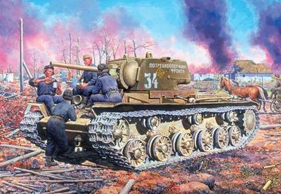 КВ-1 обр.1942 поздний - 35086 Восточный Экспресс 1:35