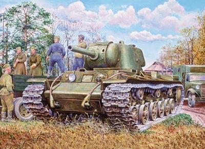 КВ-9 с 122-мм гаубицей У-11 - 35088 Восточный Экспресс 1:35