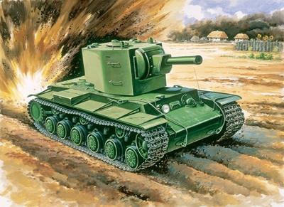 КВ-2 образца 1941 Тяжелый танк - ЕЕ35090 Восточный Экспресс 1:35
