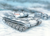 КВ-1С Тяжелый танк - 35100 Восточный Экспресс 1:35