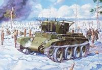 БТ-7А Командирский артиллерийский танк - 35115 Восточный Экспресс 1:35