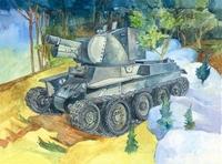 БТ-42 Финское штурмовое орудие - 35116 Восточный Экспресс 1:35