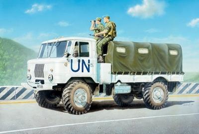 ГАЗ-66 Армейский грузовик 4х4 (тент) - 35131 Восточный Экспресс 1:35