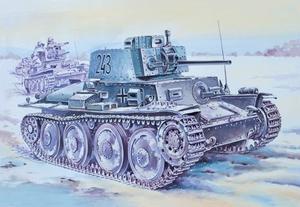 Pz.Kpfw.38(t) Прага Легкий танк - 35145 Восточный Экспресс 1:35