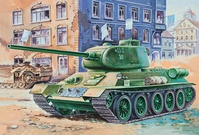 Т-34-85 средний танк - 35146 Восточный Экспресс 1:35