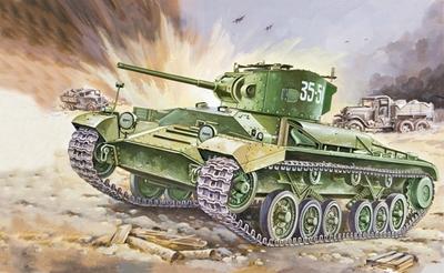 Mk.III Валентайн-4 пехотный танк (Mk III Valentine IV) - 35148 Восточный Экспресс 1:35