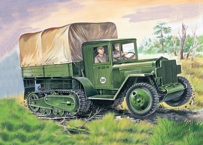 ЗИС-42 Полугусеничный грузовик - 35153 Восточный Экспресс 1:35
