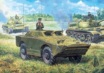 БРДМ-У Штабная машина - 35162 Восточный Экспресс 1:35