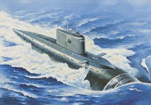 Подводная лодка проект 877 - 40007 Восточный Экспресс 1:400
