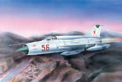 МИГ-21Р Тактический разведчик - 72103 Восточный Экспресс 1:72