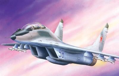 МИГ-29УБ Фронтовой истребитель - 72107 Восточный Экспресс 1:72