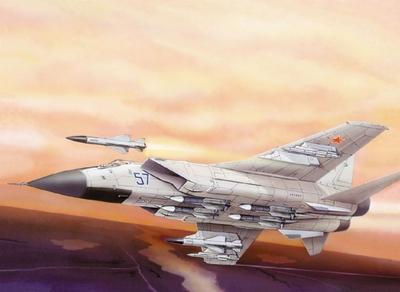 МИГ-31БM Перехватчик - 72116 Восточный Экспресс 1:72