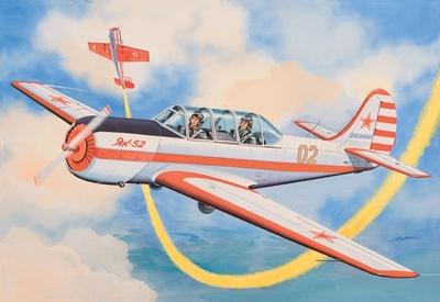 Як-52 Спортивный самолет - 72147 Восточный Экспресс 1:72