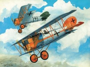 Пфальц Д-XII Истребитель WWI (Pfalz D.XII) - 72153 Восточный Экспресс 1:72