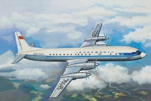 Ил-18 А/Б Пассажирский самолет Аэрофлот - 14464 Восточный Экспресс 1:144
