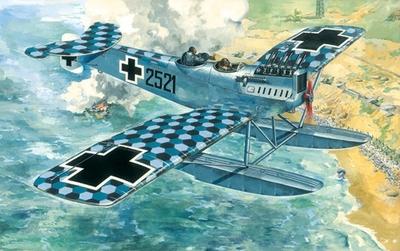 Ганза Брандербург W29 Морской истребитель - 72163 Восточный Экспресс 1:72