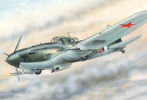 Ил-2М3 Штурмовик - 72216 Восточный Экспресс 1:72