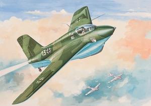 Ме-163 Ракетный истребитель-перехватчик - 72228 Восточный Экспресс 1:72