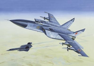 МиГ-25П Истребитель-перехватчик - 72123 Восточный Экспресс 1:72
