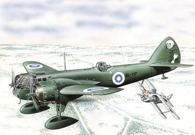 Бленхейм Mк.I Легкий бомбардировщик (Blenheim Mk.I) - 72262 Восточный Экспресс 1:72