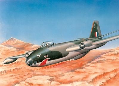 Канберра Б(I) Мк.8 средний бомбардировщик (Canberra B (I) Mk.8) - 72265 Восточный Экспресс 1:72