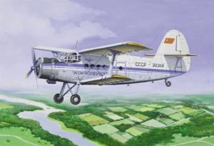Ан-2 Пассажирский самолет Аэрофлот - 14443 Восточный Экспресс 1:144