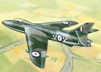 «Хантер» Мк.I Истребитель-бомбардировщик (Hunter F.1). ЕЕ72272 ВЭ 1:72