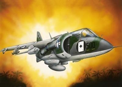 Харриер Мк.I Штурмовик-разведчик ВВП (Harrier GR.1) - 72274 Восточный Экспресс 1:72