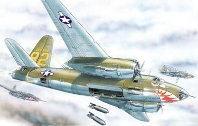 Б-26 Мародер Средний бомбардировщик (B-26 Marauder) - 72277 Восточный Экспресс 1:72