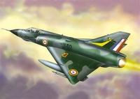 Мираж IIIE Истребитель-бомбардировщик (Mirage IIIE) - 72282 Восточный Экспресс 1:72